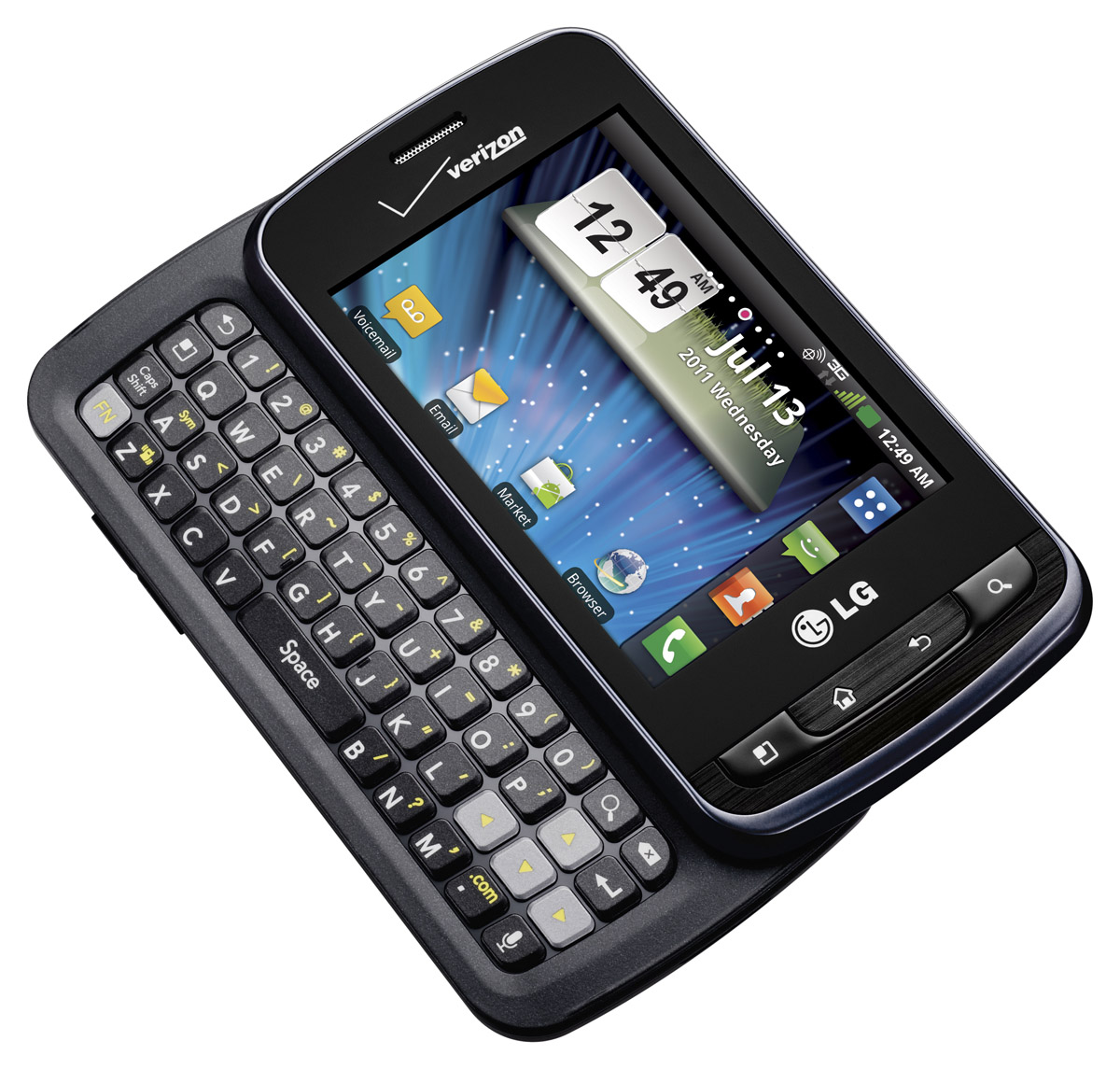 ... LG Enlighten , Smartphone con Sistema Operativo Google Android y