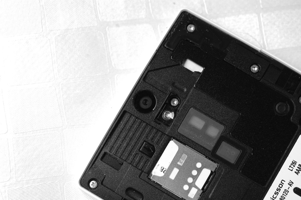 xperia s tarjeta de memoria