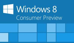 Logotipo de la Consumer Preview de Windows 8