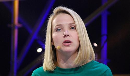 Marissa Mayer, CEO de Yahoo!. Imagen de Magnus Höij en Flickr bajo licencia Creative Commons