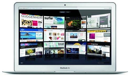 Una de las vistas de Safari en un Mac con OS X