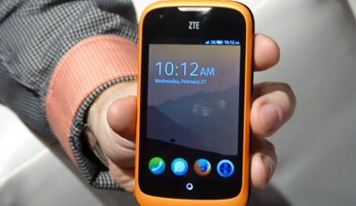 Así nos mostraron Firefox OS en el último Mobile World Congress. Imagen: Alexi's TechBlog