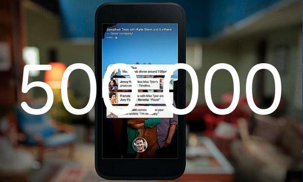Facebook Home arriba al mig milió de descàrregues