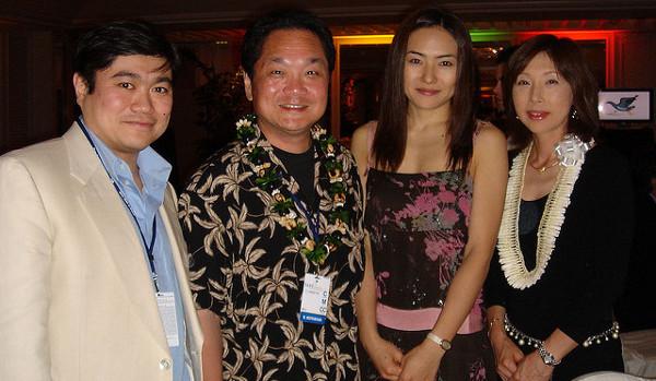 Ken Kutaragi, segon per l'esquerra. Imatge de Joi Ito a Flickr sota llicència Creative Commons