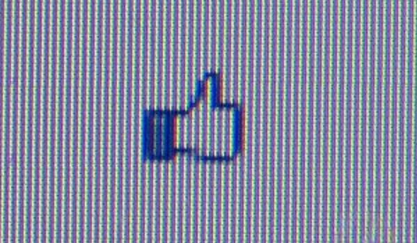 "Un ""m'agrada"" de Facebook"