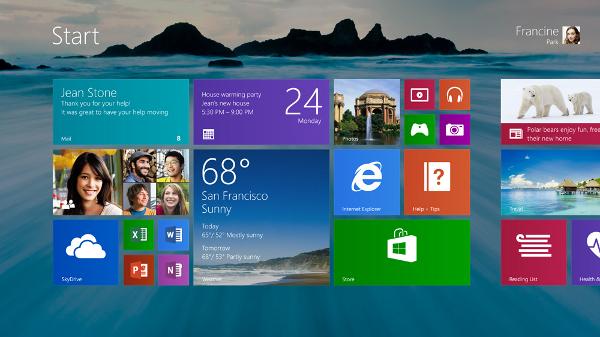 Noves opcions de fons d'escriptori per a Windows 8.1