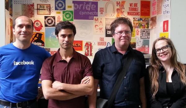 L'equip de Monoidics. Imatge gentilesa de l'empresa