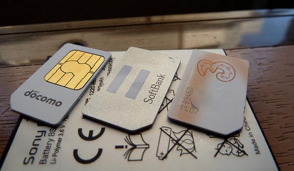 Diverses targes mini-SIM. Imatge de Karl Baron a Flickr sota llicència Creative Commons