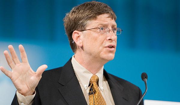 Bill Gates. Imatge de Masaru Kamikura a Flickr sota llicència Creative Commons