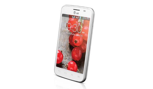 La versió de doble SIM de l'LG Optimus L4 II