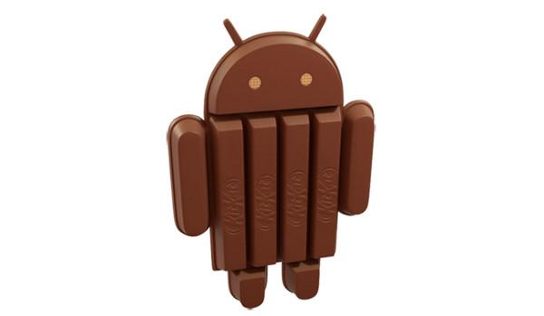 La mascota d'Android 4.4 KitKat