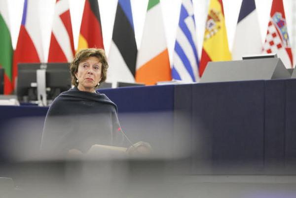 Neelie Kroes es trobarà sola defensant el projecte de l'Agenda Digital? Imatge gentilesa de la Comissió Europea