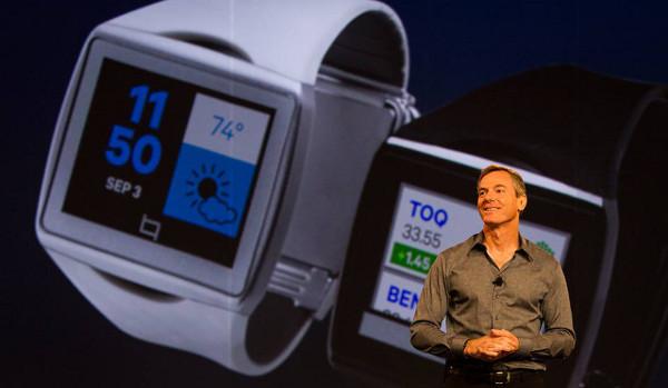 Paul Jacobs, CEO de Qualcomm, durant la presentació del Toq. Imatge gentilesa de Qualcomm