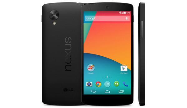 El Nexus 5 según apareció fugazmente en la tienda de Google
