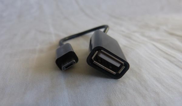 El cable USB OTG de Sandberg