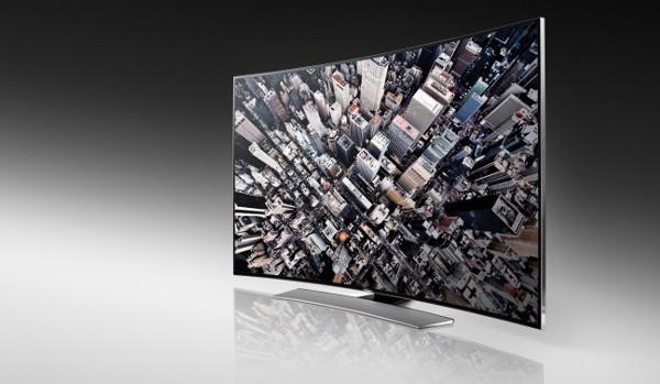 Televisor curvo UHD de la serie U9000