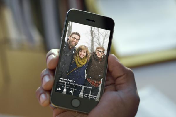El apartado visual (fotos y vídeos) gana nuevo protagonismo en esta interfaz tan límpia