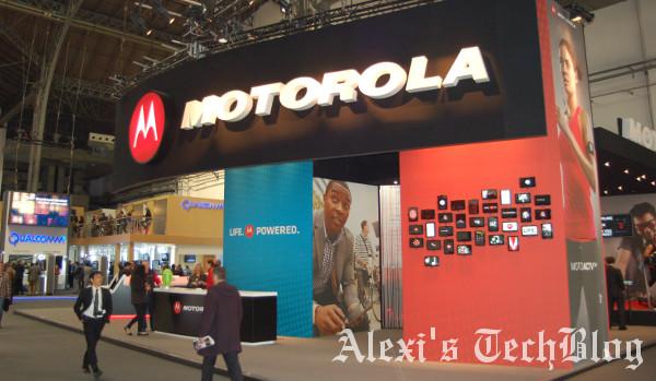 estand de Motorola en el MWC 2013