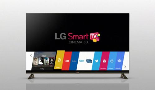 El primer televisor de LG con webOS