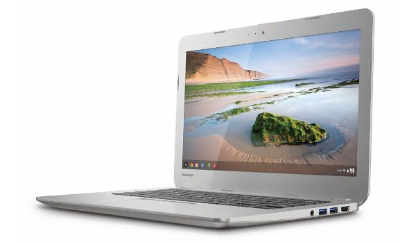 El Chromebook de Toshiba