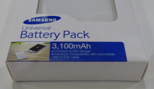 Un cargador de batería portátil