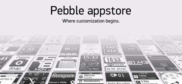 Anuncio de la nueva tienda de Pebble
