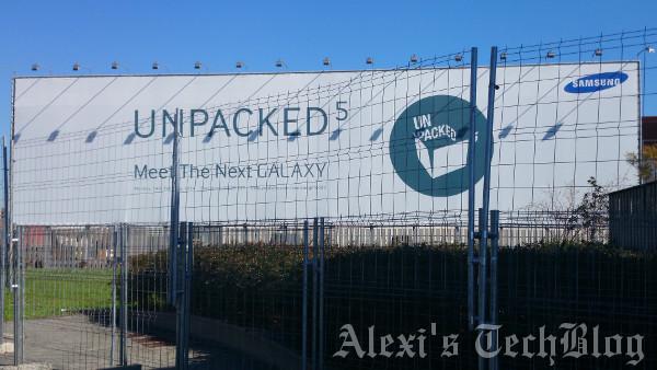 Publicidad del Samsung Unpacked
