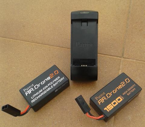 Baterías y cargador