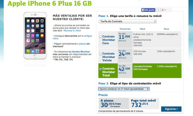Iphone  Orange Portabilidad